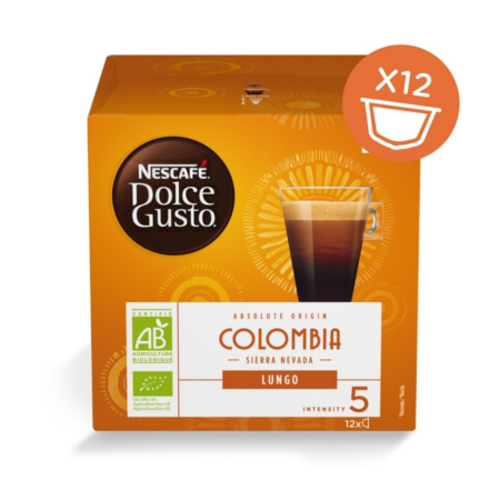 Dolce Gusto Lungo Colombia Sierra Nevada