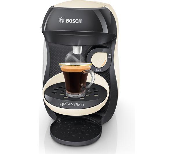 Bosch Tassimo Happy TAS1007 Kávéfőző Krémszínű